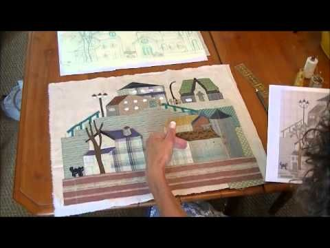 Bloc 4 - video 2/2  - Mystery Quilt Yoko Saito by QUILTMANIA Editions http://www.quiltmania.com/english/home.html