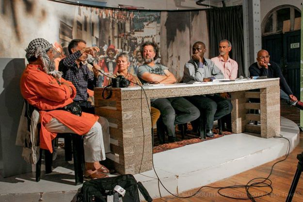 A public conversation was held exploring the topic of 'Our changing world' and of how it is impacting on arts and culture and how arts and culture is impacting on our changing world.