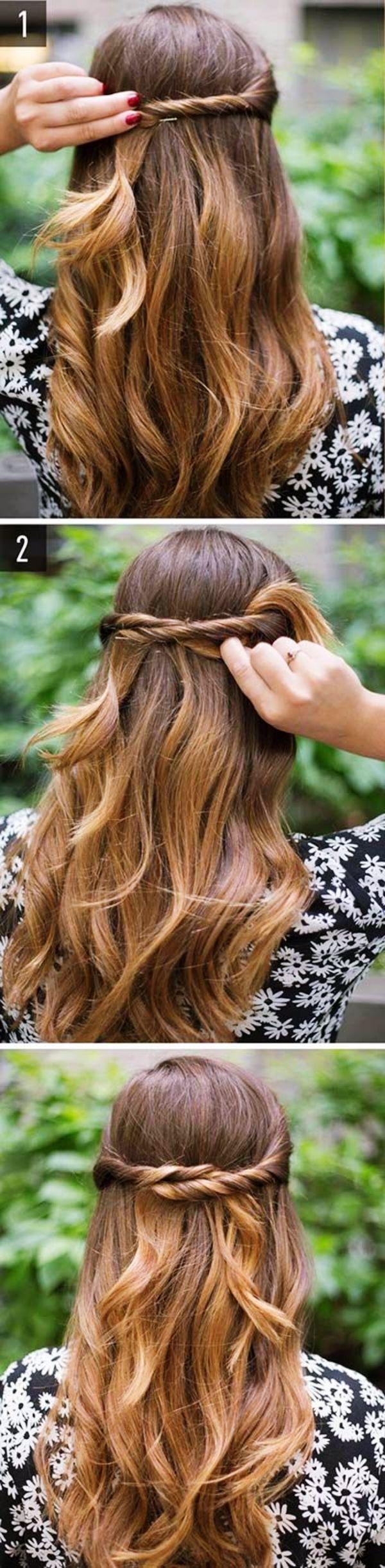 35 Greek Goddess Half-up Half-Down Hairstyles