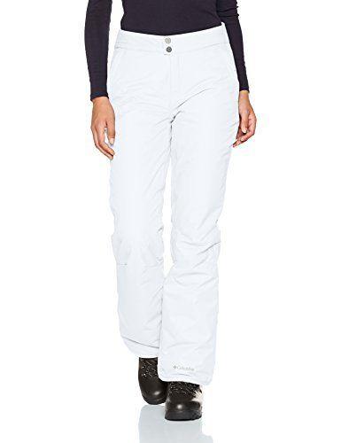 Columbia On the Slope Pant Pantalon de Ski Femme: Technologies: omni tech: imperméable/ respirant Taille ajustable Poches latérales zippées…