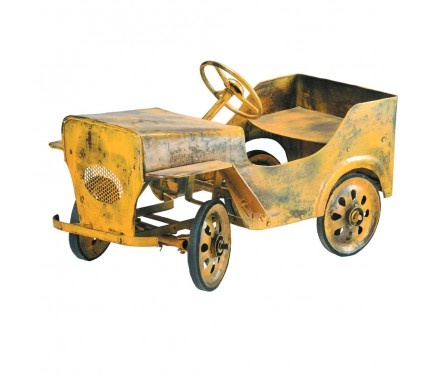 Weathered truck for the garden: Peddle Cars, Antique Toys, Left Out, Pedal Cars My, Boys Room, Yellow Truck