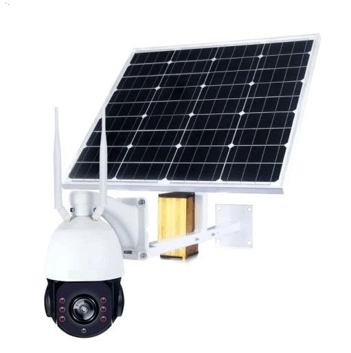 2.0MP 4G PTZ control no-glow IR LED waterproof outdoor real time video streaming solar CCTV camera with lithium ion battery