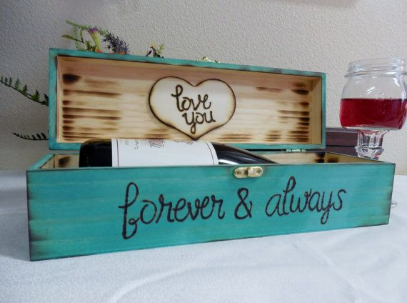 Rustic Shabby Chic Love Letter Wine Box-Time by AngisSouthernChic & Best 25+ Wine box ceremony ideas on Pinterest | Wedding wine boxes ... Aboutintivar.Com
