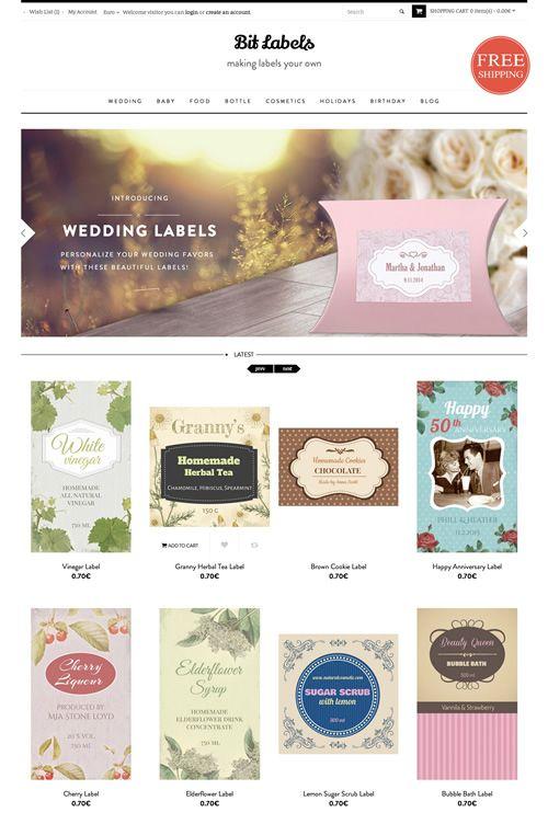 Etichette vintage per regali personalizzati - Sfizzy