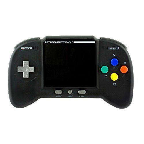 NES SNES Portable Handheld Console Game CORE Black Gift Idea Kids Teens Memories #RetroBit