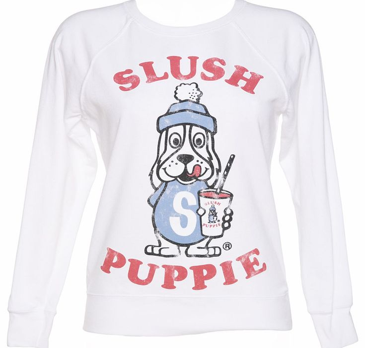 TruffleShuffle Ladies Vintage Slush Puppie Lightweight Sweater Pay homage to the puppie who changed the world of frozen drinks forever with this ultra kitsch Slush Puppie ladies sweater. Intentionally distressed for authentic vintage appeal, it comes on a lightwe http://www.comparestoreprices.co.uk/t-shirts/truffleshuffle-ladies-vintage-slush-puppie-lightweight-sweater.asp