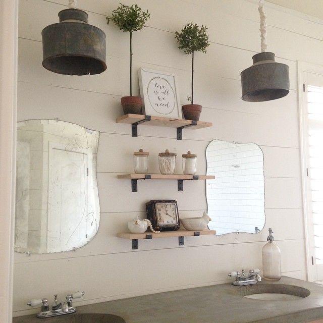 Fashion Bathroom Decor: 1074 Best Vintage Mirrors; Vintage Stained Glass Windows