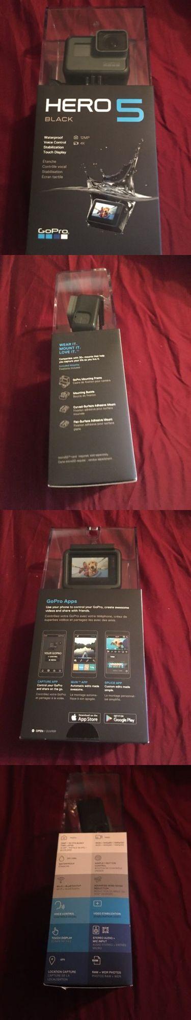 Camera Photo: Gopro Hero5 Black Ultra Hd Action Camera - 4K -> BUY IT NOW ONLY: $365 on eBay!