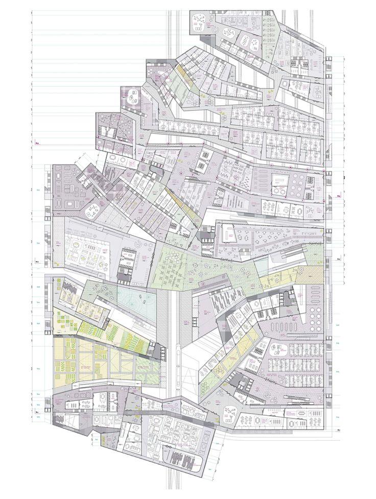 Best 128 archiplans diagrams ideas on pinterest for Final fortress blueprints