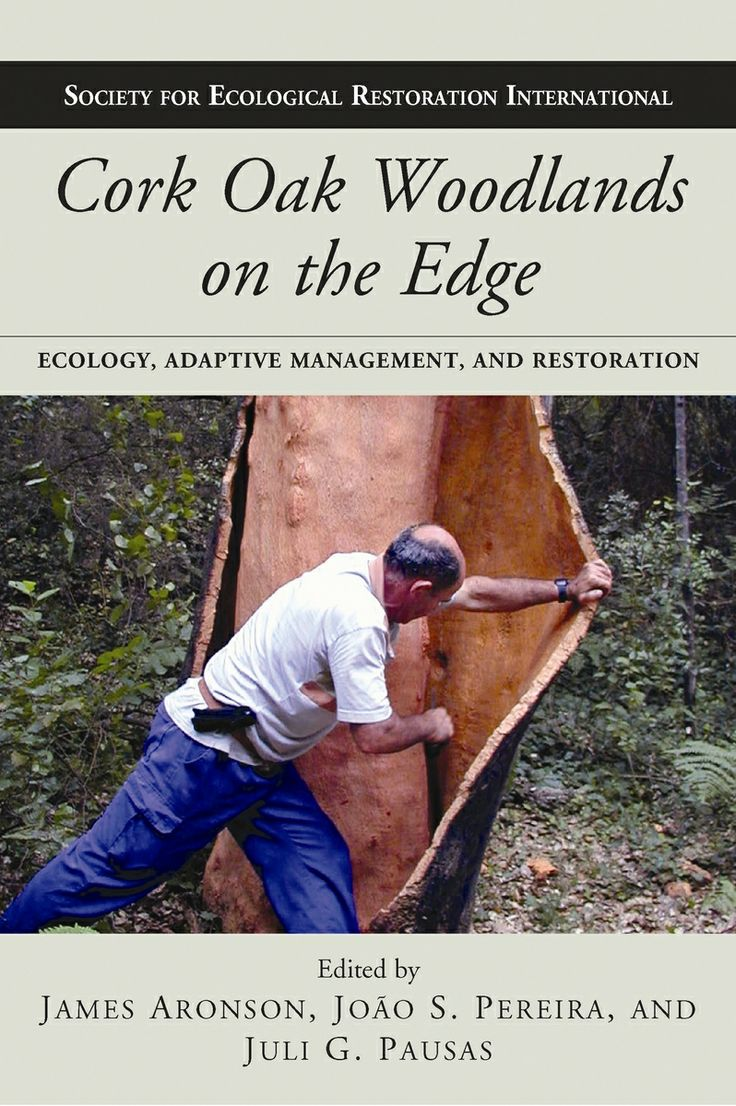 Cork oak woodlands on the edge : ecology, adaptive management, and restoration, editado por James Aronson, João S. Pereira, and Juli G. Pausas.   L/Bc 630*2 COR  http://almena.uva.es/search~S1*spi/?searchtype=t&searcharg=cork+oak&searchscope=1&SORT=D&extended=0&searchlimits=&searchorigarg=tecotones