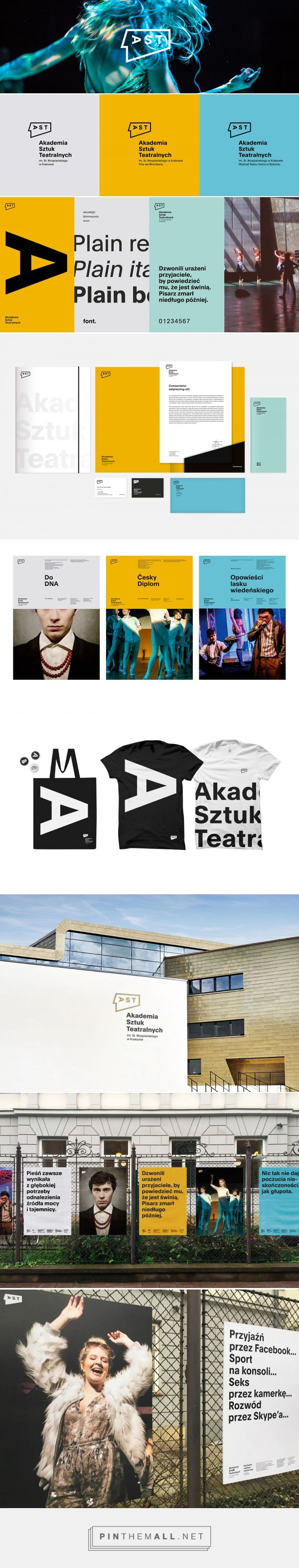 National Academy of Theatre Arts in Kraków on Behance... - a grouped images picture - Pin Them All