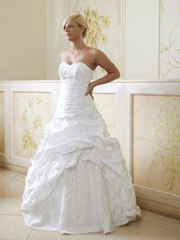 Brautkleid mit Rosen by cinderella-traumkleid.de