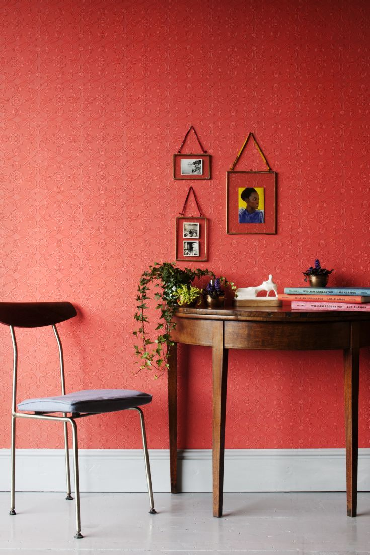 Dress up walls with textured paintable wallpaper called anaglypta - Maxwell By Anaglypta Wallpaper Direct