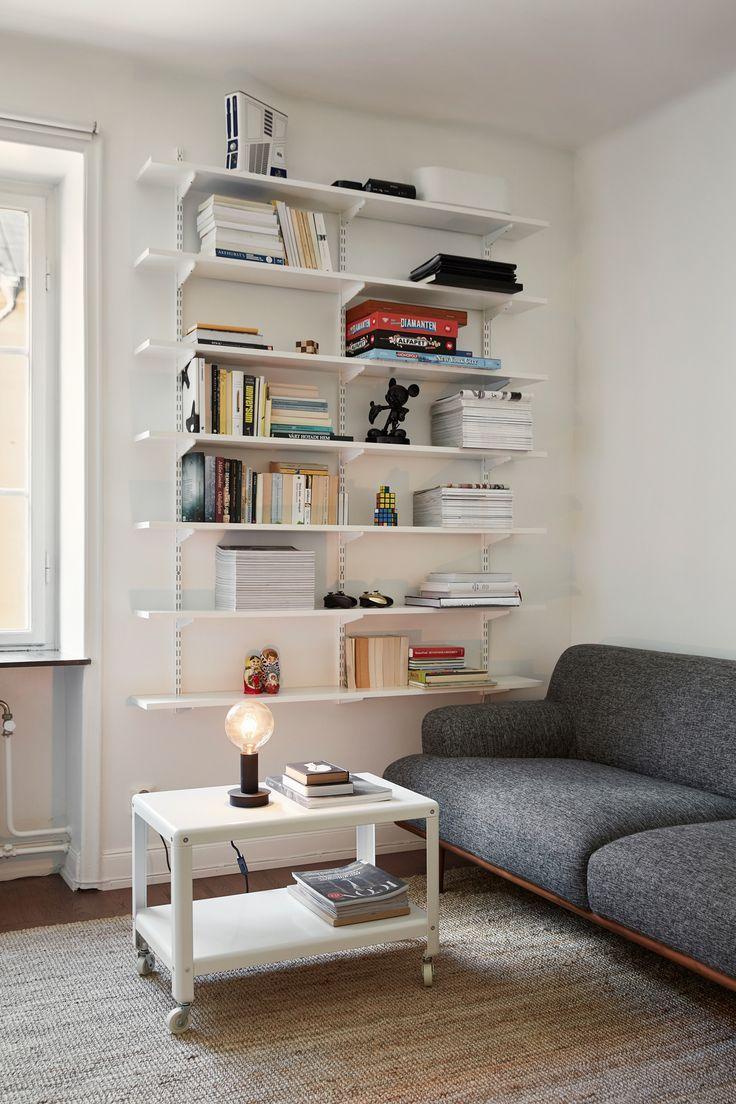 billedresultat for ikea algot hack books pinterest arbeitszimmer einrichten und wohnen. Black Bedroom Furniture Sets. Home Design Ideas