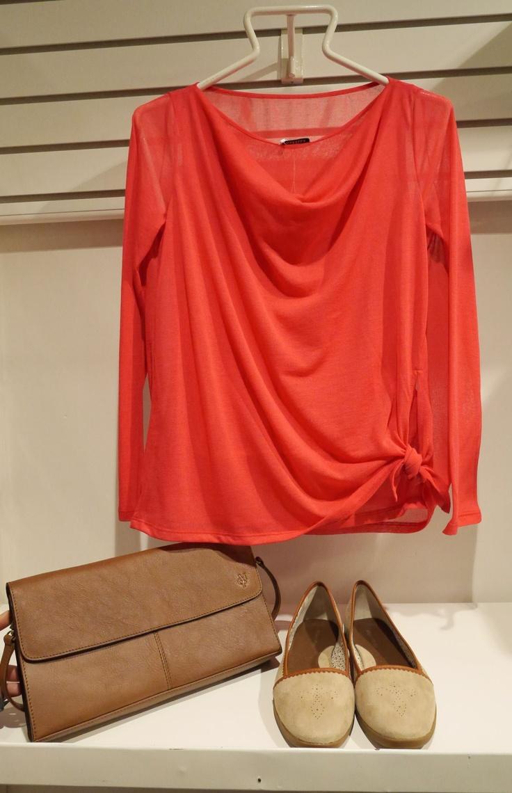 Marella shirt and Marc O'Polo bag & ballerinas