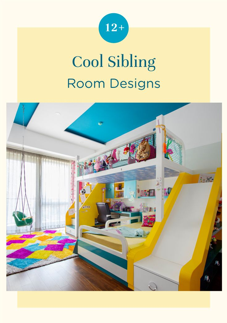 15 Kids Room Designs They Would Love To Share Kids Room Design Room Design Sibling Room Childrens room decor interior design