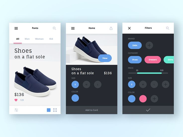 Shop App by Alex Volk