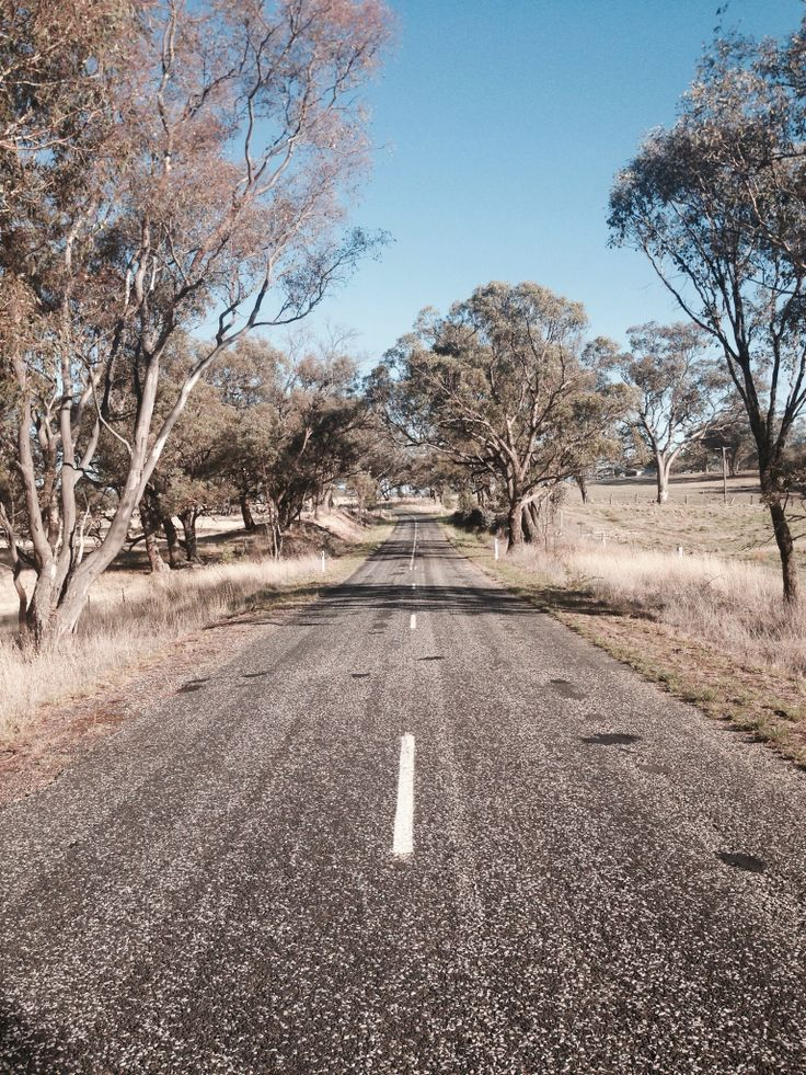 Running in the country is soothing - orange, nsw