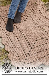 Crochet rug. Pattern for free