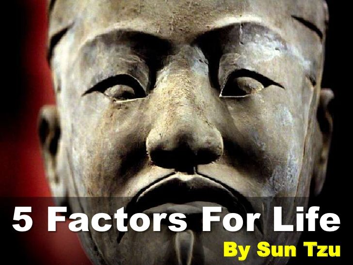 5 Factors For Life by Sun Tzu