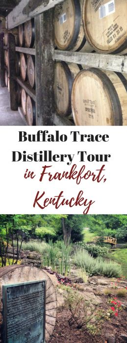 Buffalo Trace Distillery Tour in Frankfort, Kentucky.  United States #bourbon