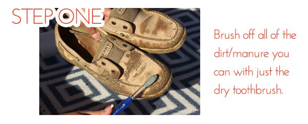 DRIVE Livestock | Sperry Rescue: How to Clean Your Sperrys - DRIVE Livestock
