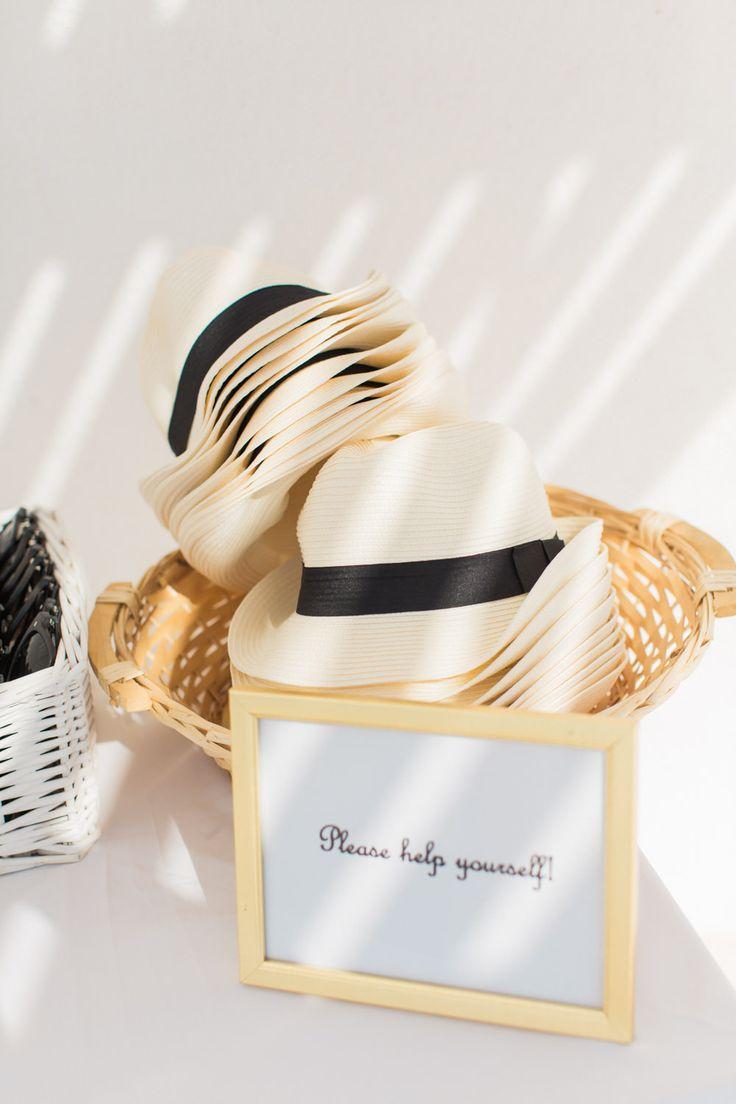 Elegant Santorini Wedding at Rocabella Hotel with Olive Tree Decor & Jesús Peiró…