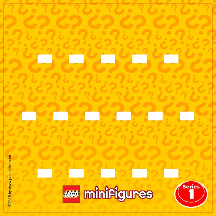 LEGO Minifigures 8683 Series 1 - Display Frame Background 230mm - Clicca sull'immagine per scaricarla gratuitamente!