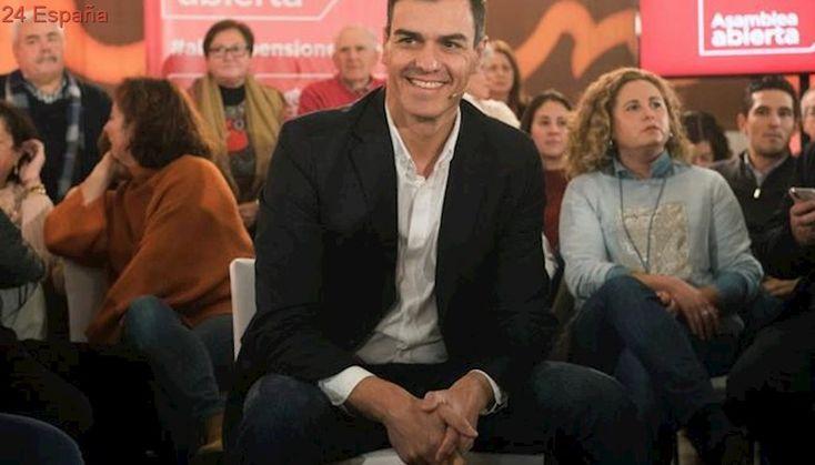 """Pedro Sánchez: """"Un presidente de Cataluña tiene que vivir en Cataluña, no puede ser investido vía Skype"""""""