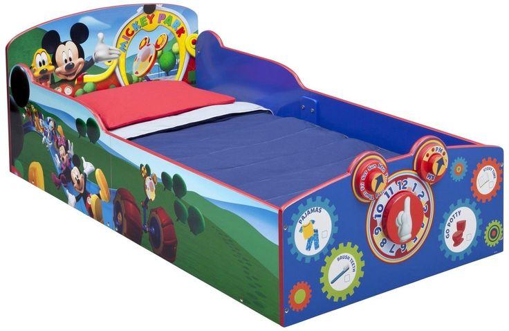Delta Children Interactive Wood Toddler Bed Disney Mickey Mouse Delta Children