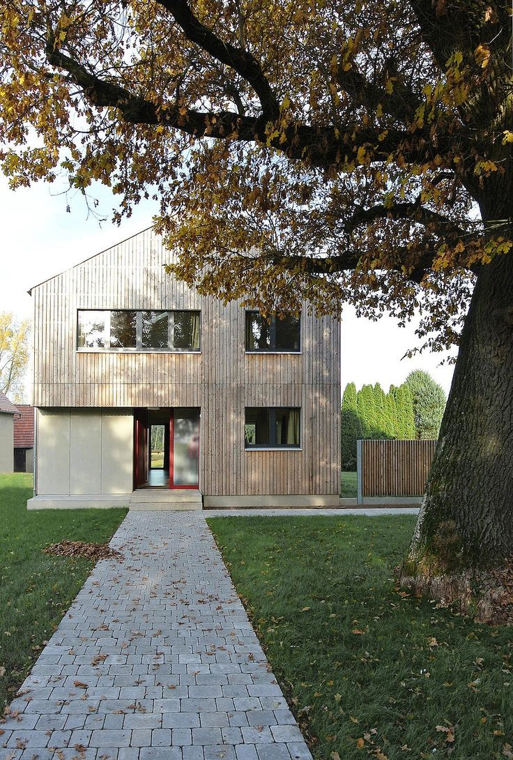 100 besten efficiento holzh user bilder auf pinterest for Moderner baustil einfamilienhaus