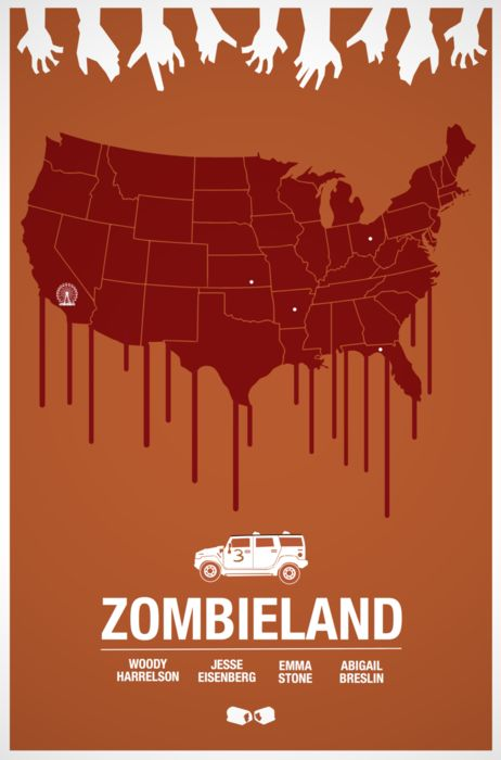 Zombieland poster.