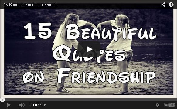 15 Inspiring beautiful quotes on friendship - Quotes Empire