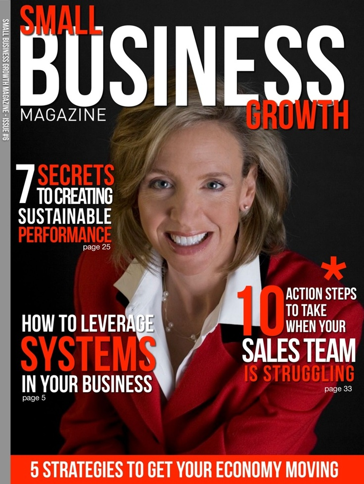 17 Best Images About Small Business Growth Magazine Covers