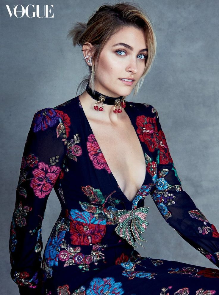 Paris Jackson for Vogue Australia.