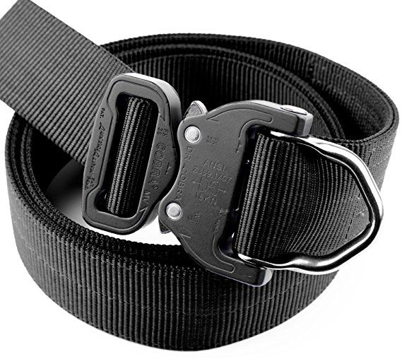 Klik Belt, World's Strongest D-Ring Belt for Fire Fighters and Military