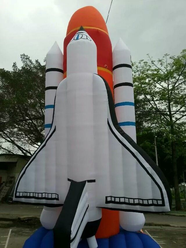 20 FT High Simulation Model Inflatable Space Shuttle For Advertisement #Affiliate
