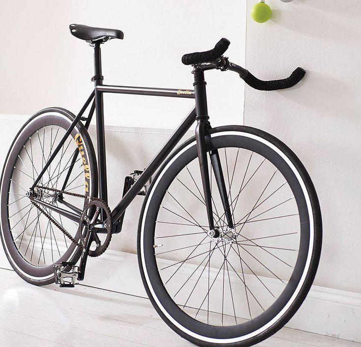 Hand Built Fixed Gear Single Speed Bike