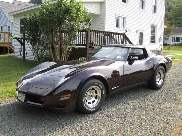 1981 Corvette t-tops 38K