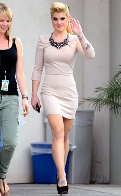 Kelly Osbourne, you're doing it right