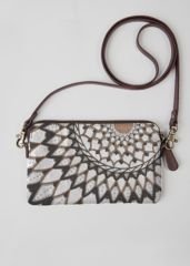 VIDA Leather Statement Clutch - Cool Psychedelic Clutch by VIDA ypIjqLUVi