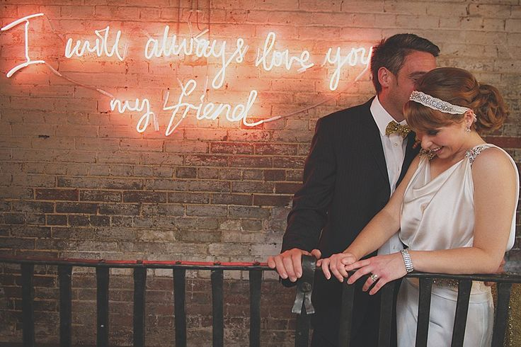 Neon Lights, Sequin Sparkle and Colourful Blooms: Deco Disco Wedding Inspiration | Love My Dress® UK Wedding Blog