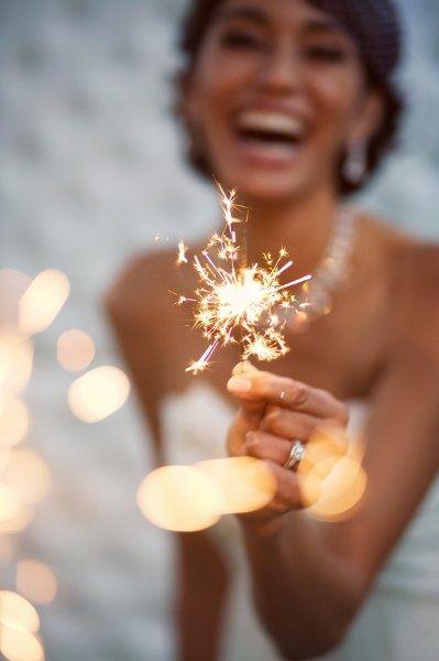 mini sparklers!