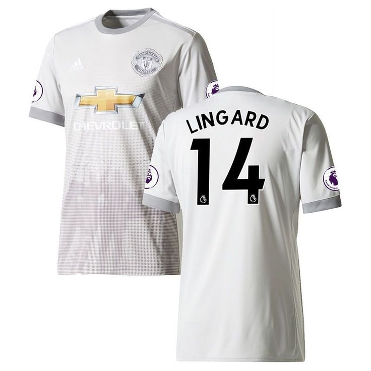 Jesse Lingard Manchester United adidas Youth 2017/18 Third Replica Jersey - Gray