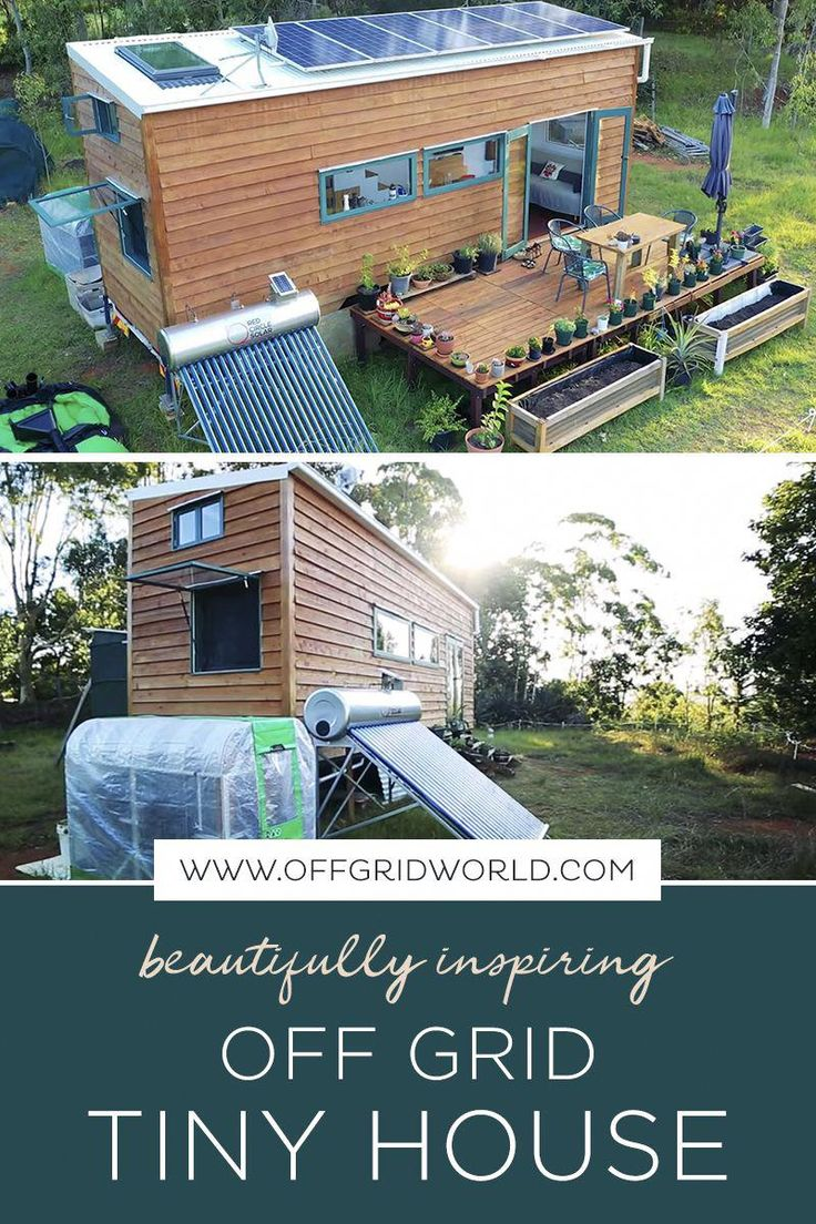 This Tiny House is Off Grid Perfection! in 2020 Off grid