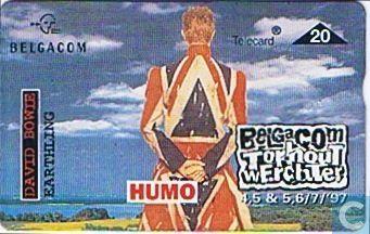 Telephone card - Belgacom - Torhout-Werchter: David Bowie 1997