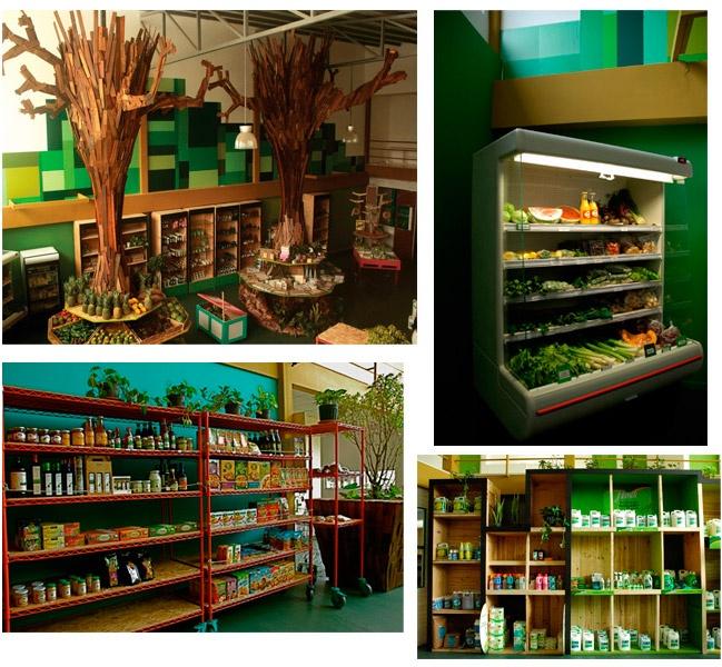 Green Center market, Costa Rica. Frutas y verduras, bodycare, alimentos, refrigerados, ropa and accesorios, arte & decoración, oficina & papelería y detergentes biodegradables.