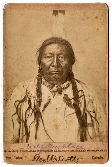 Sunkaha Napin (aka Wolf Necklace, aka Dog Skin) - Yanktonai - circa 1885