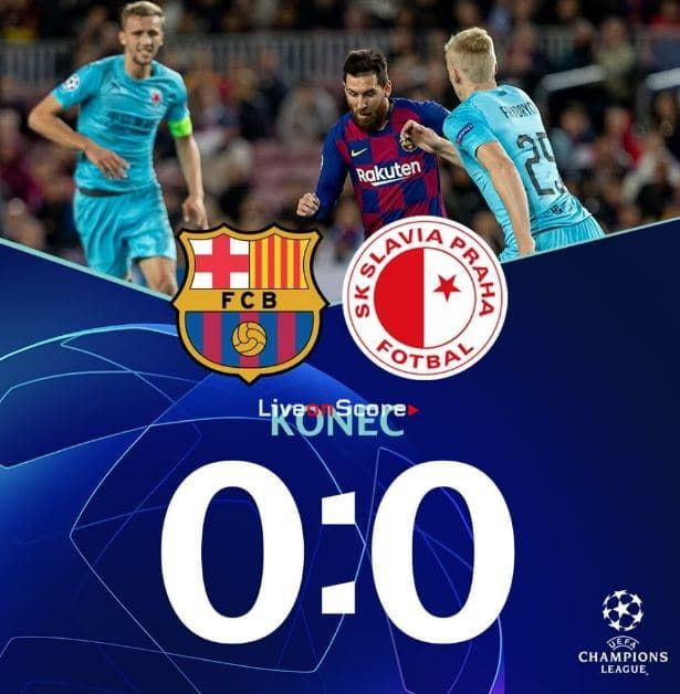 Barcelona 0 0 Slavia Prague Full Highlight Video Uefa Champions League Allsportsnews Football Highlightvid Uefa Champions League Champions League League