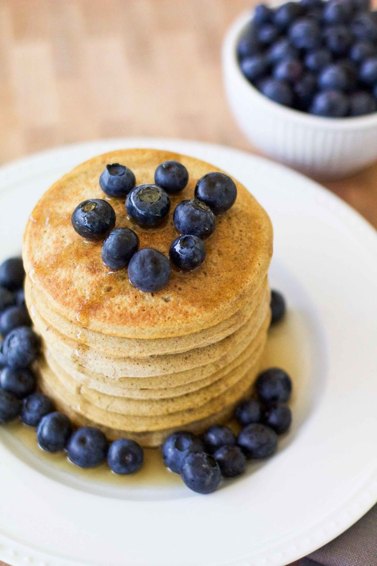 The PERFECT Pancakes made with Among Friend's Baking Mix!